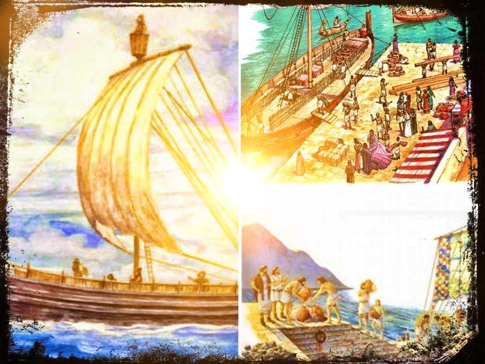 Las colonias fenicias en la Península Ibérica