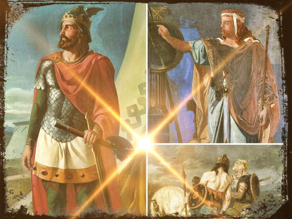 Sigerico y Walia, Reyes Godos