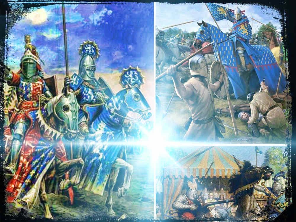 Caballería Medieval, justas, torneos y combate