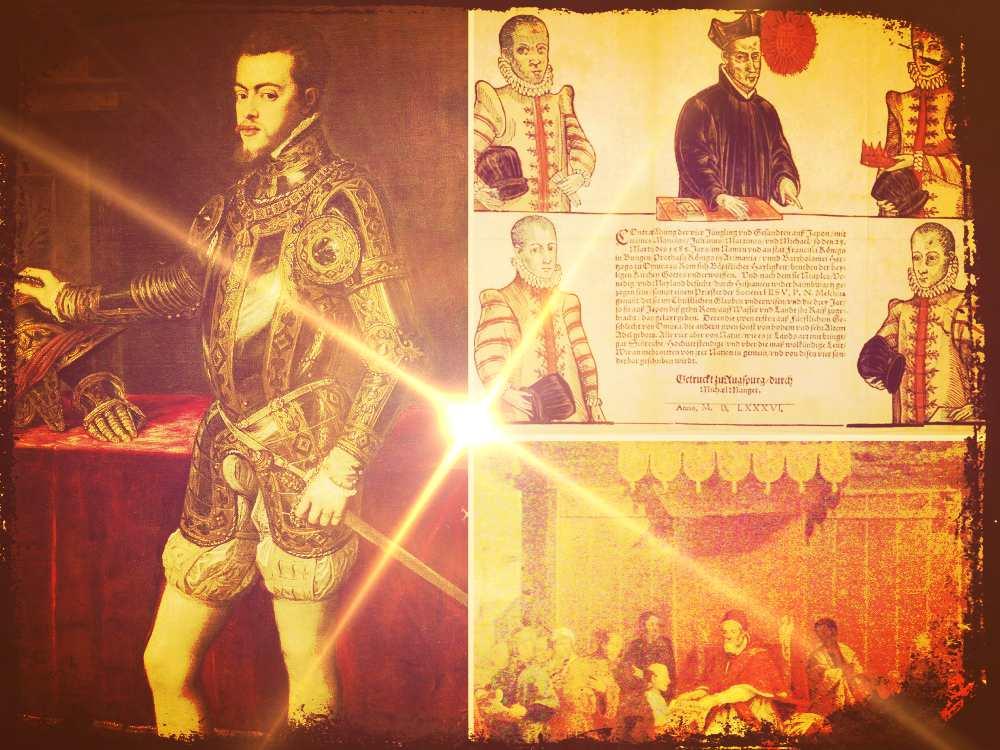 Misión Tensho, la primera embajada japonesa al Imperio español de Felipe II