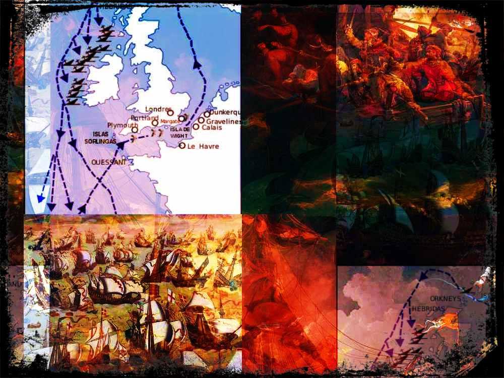Las peripecias del Capitán Cuéllar, náufrago de la Gran Armada