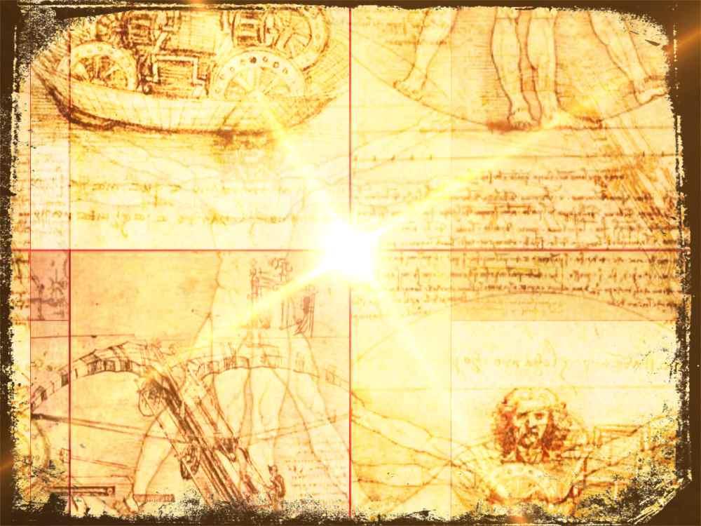 Leonardo Da Vinci, construcciones y estudios anatómicos
