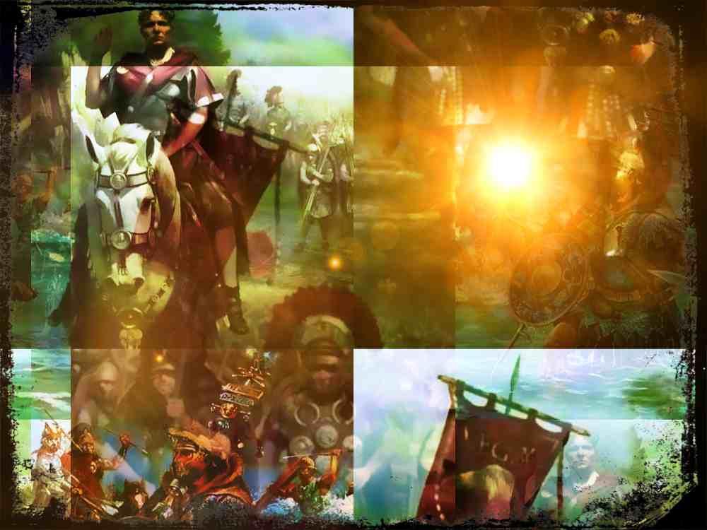 La Legión X de César, el Séptimo de Caballería de la antigua Roma
