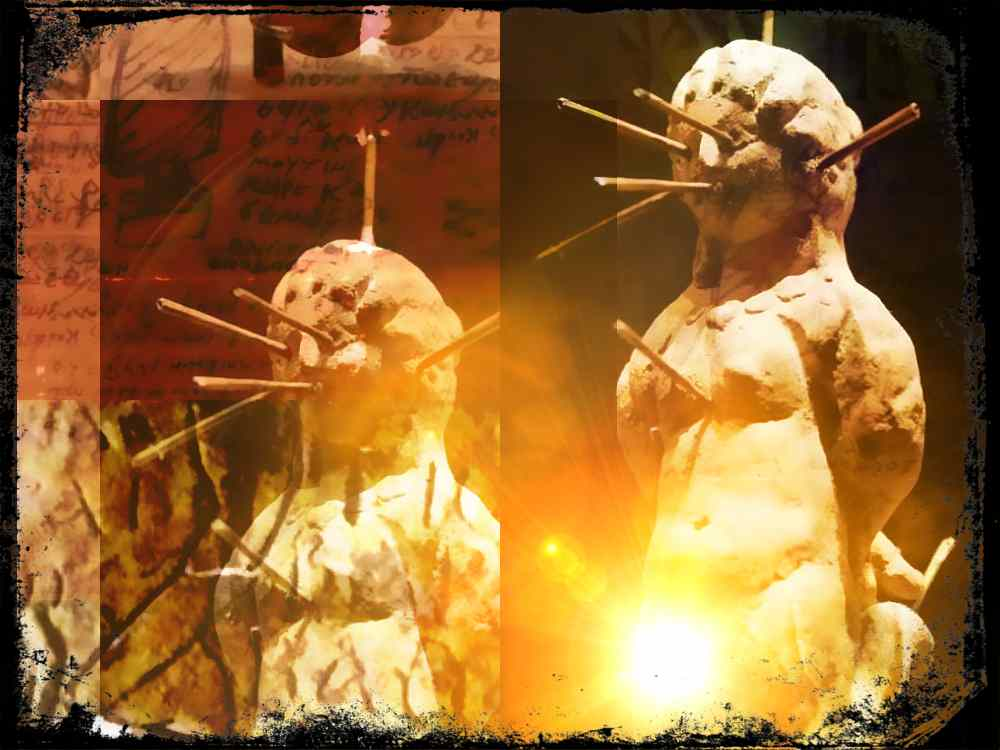 Magia negra en la Antigua Roma: tabullae defixionum y muñecos de vudú