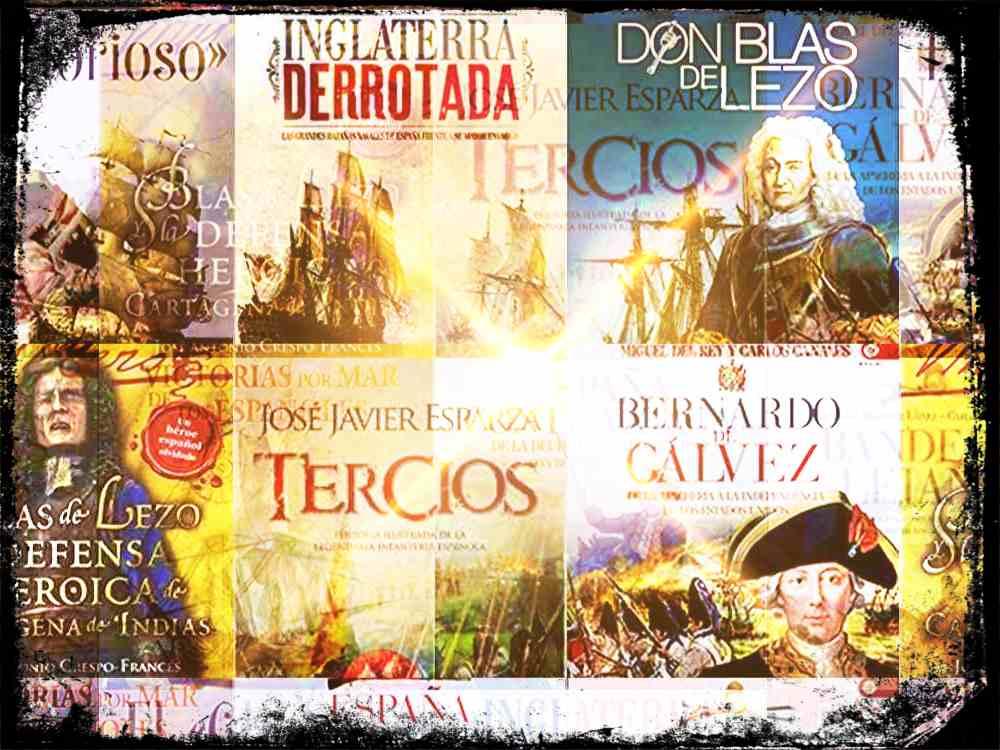 14 libros de historia de España que hay que tener