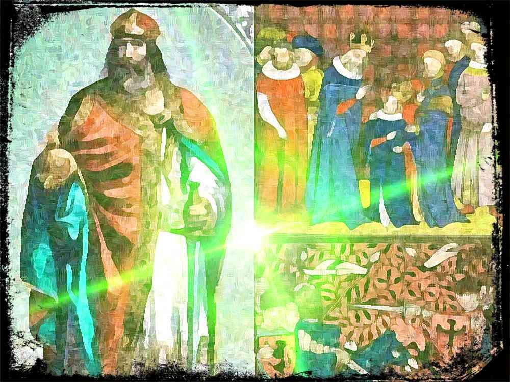 La sucesión de Ludovico Pío, el hijo de Carlomagno