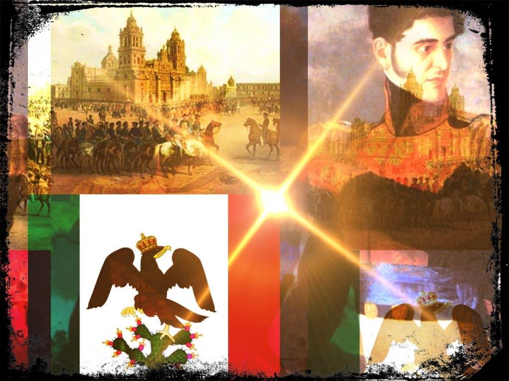 Antonio López de Santa Anna y el derrocamiento del Primer Imperio Mexicano