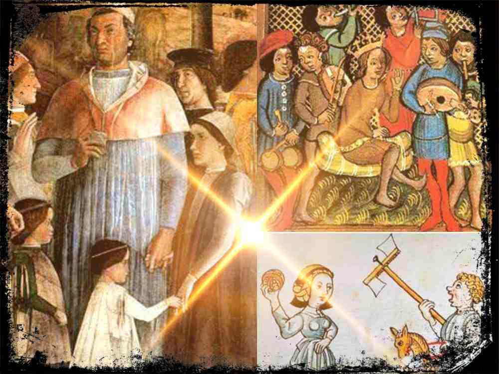 Ser niña en la Edad Media