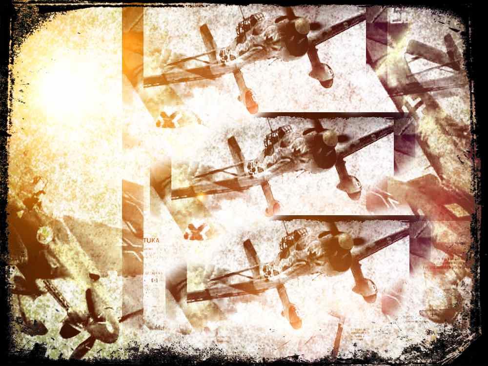 Ju-87 Stuka, las Trompetas de Jericó