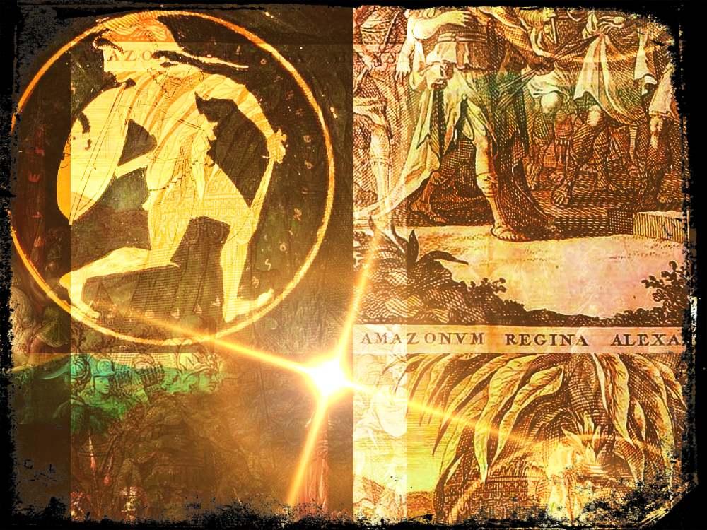 Las amazonas griegas