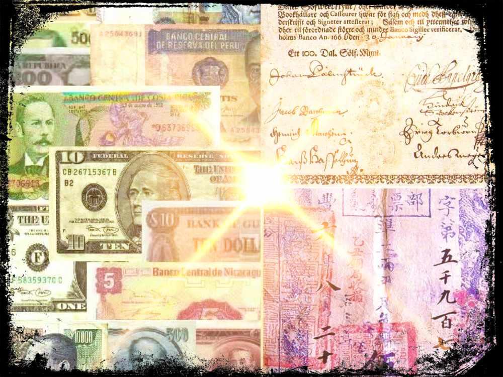 El dinero de papel, un invento chino