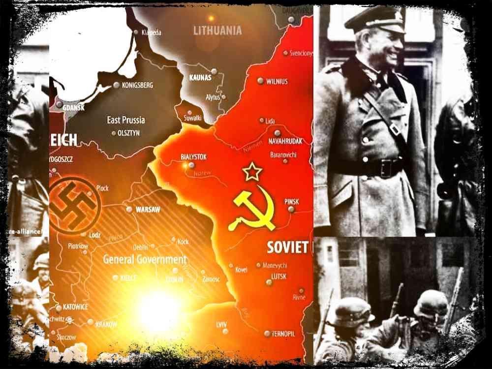 Pacto Ribbentrop-Mólotov, el tratado de no agresión germano-soviético
