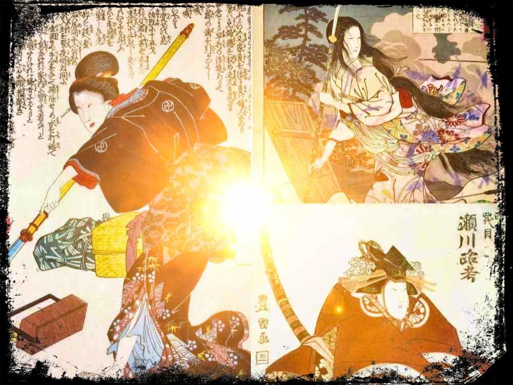 Mujeres Guerreras de Japón: tres heroínas legendarias
