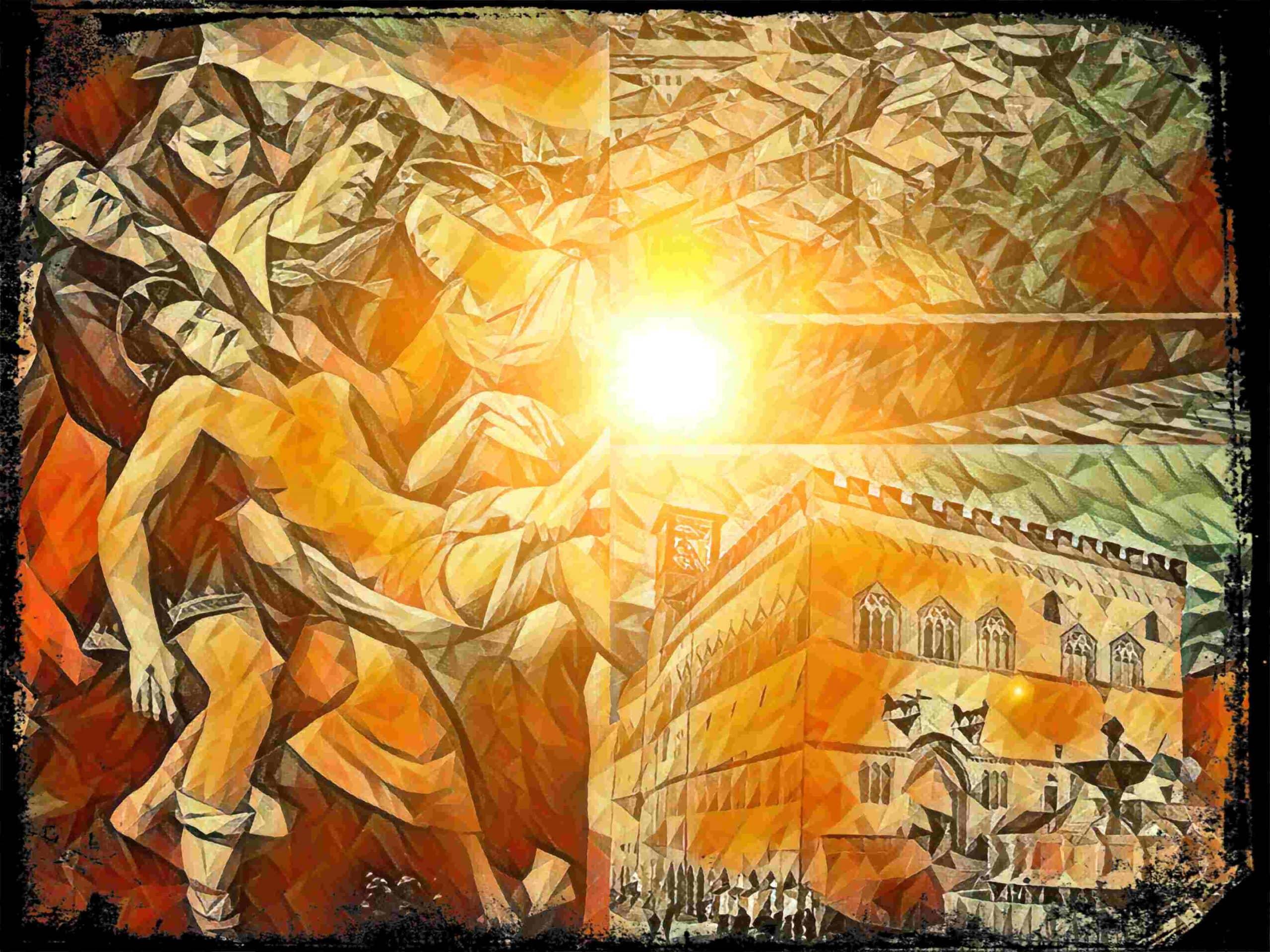 De dodelijke rivaliteit tussen de families Baglioni en Oddi. Hoe een schilderij een verhaal kan vertellen.